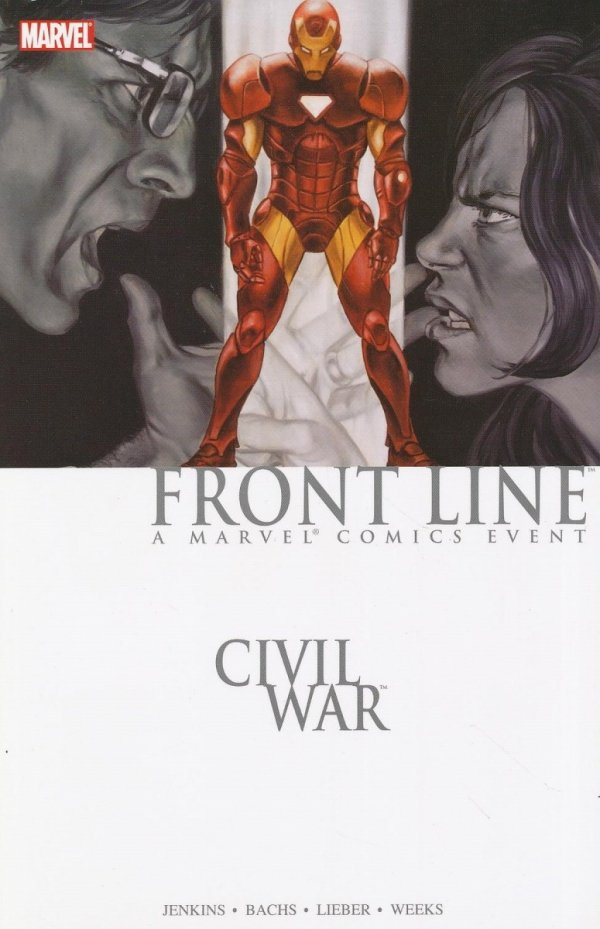 CIVIL WAR FRONT LINE VOL 02 SC