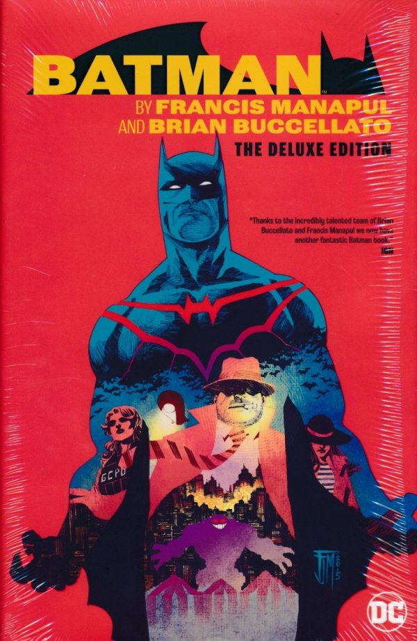 BATMAN BY FRANCIS MANAPUL AND BRIAN BUCCELLATO THE DELUXE EDITION HC
