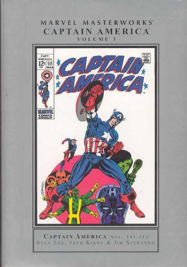 MARVEL MASTERWORKS CAPTAIN AMERICA VOL 03 HC (NEW EDITION) (STANDARD COVER) *