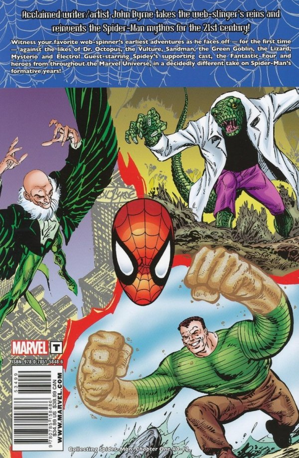 SPIDER-MAN CHAPTER ONE TP
