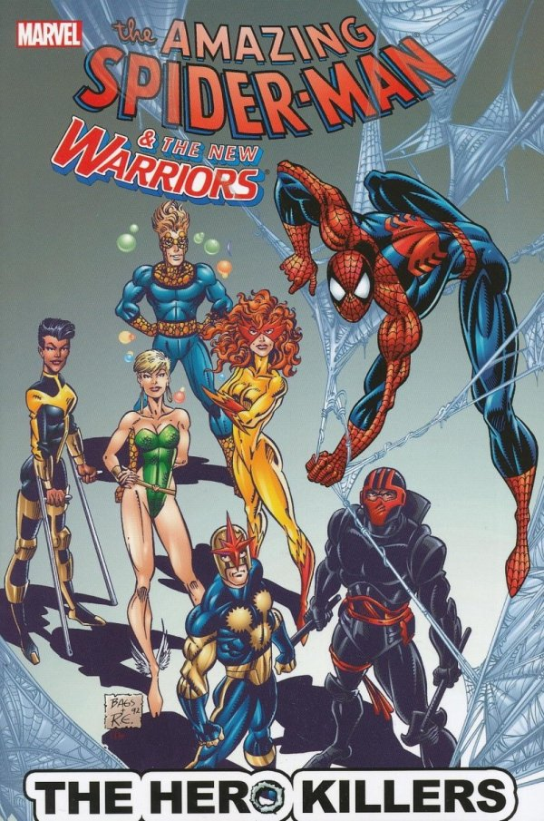 SPIDER-MAN AND THE NEW WARRIORS THE HERO KILLERS SC