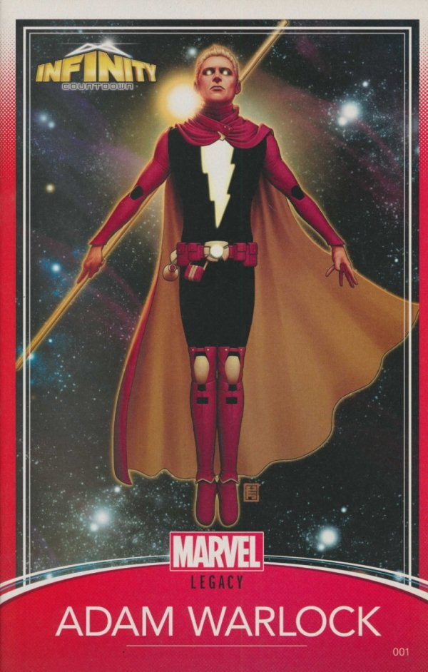 INFINITY COUNTDOWN #1 CHRISTOPHER TRADING CARD VAR
