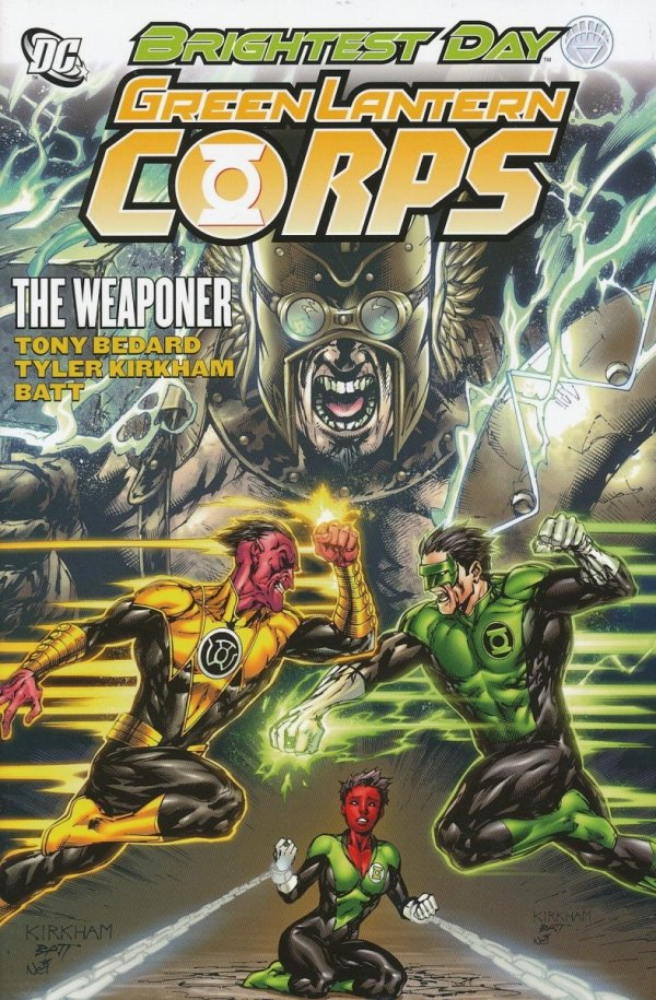 GREEN LANTERN CORPS THE WEAPONER HC
