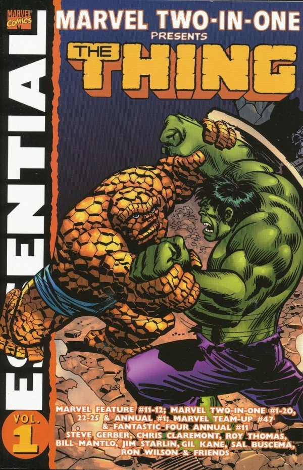 ESSENTIAL MARVEL TWO-IN-ONE VOL 01 SC *