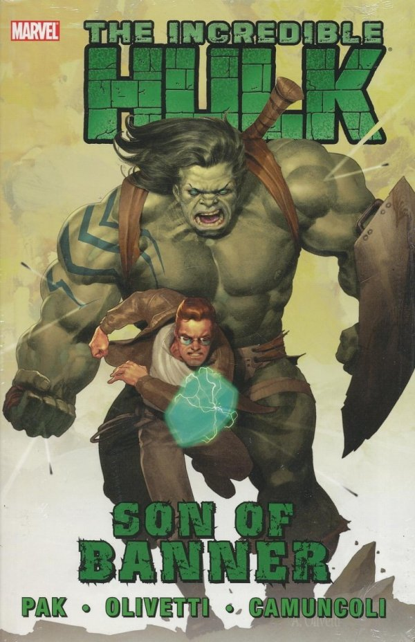 HULK VOL 01 SON OF BANNER HC *