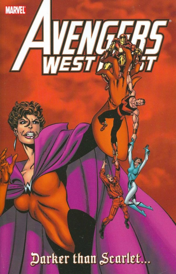 AVENGERS WEST COAST DARKER THAN SCARLET SC **