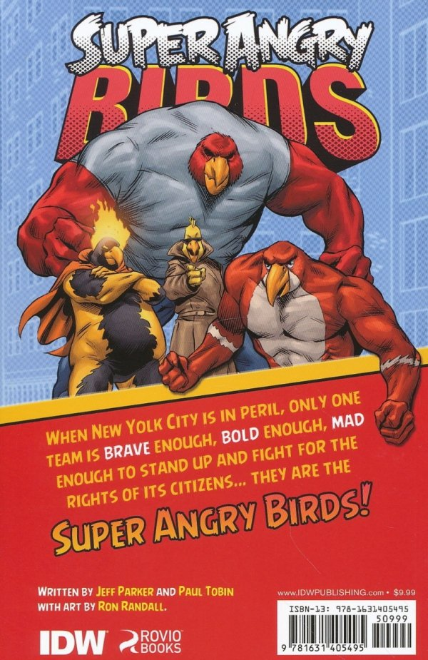 ANGRY BIRDS SUPER ANGRY BIRDS SC *