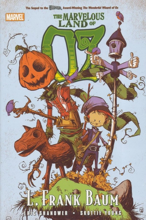 OZ THE MARVELOUS LAND OF OZ HC