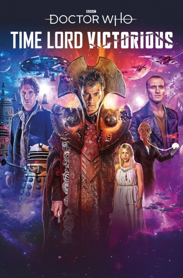 DOCTOR WHO TIME LORD VICTORIOUS #1 CVR A BINDING *