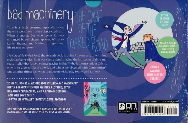 BAD MACHINERY VOL 07 THE CASE OF THE FORKED ROAD SC (SLIPCASE)