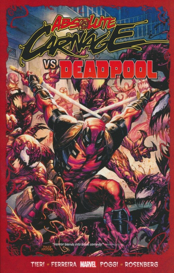ABSOLUTE CARNAGE VS DEADPOOL SC