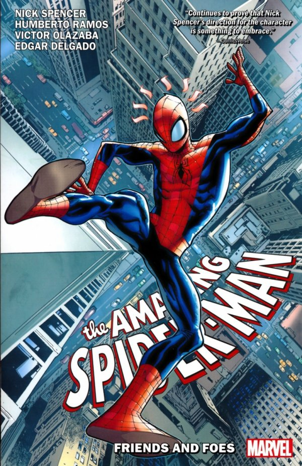 AMAZING SPIDER-MAN VOL 02 FRIENDS AND FOES SC