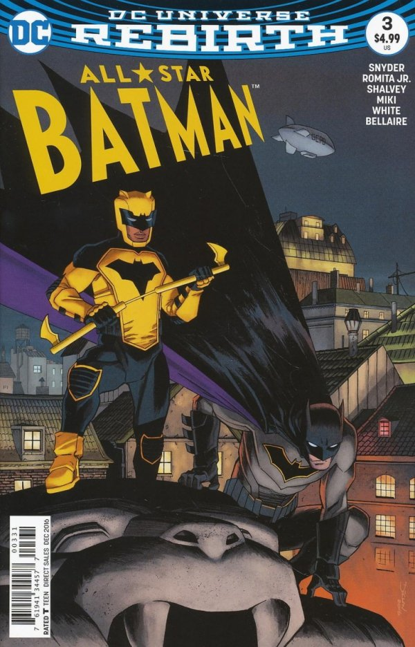 ALL STAR BATMAN #3 SHALVEY VAR