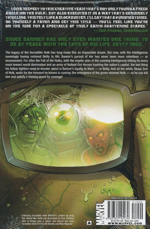 HULK VOL 03 WORLD WAR HULKS HC