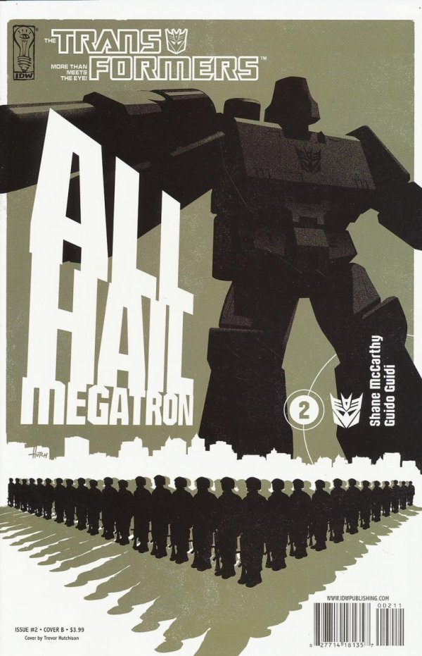 TRANSFORMERS ALL HAIL MEGATRON #2
