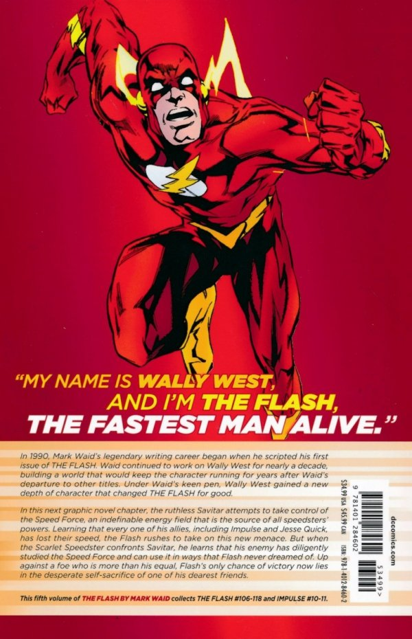 FLASH BY MARK WAID VOL 05 SC