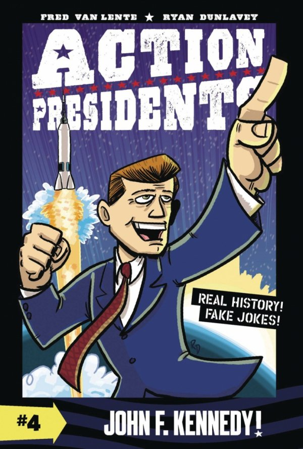 ACTION PRESIDENTS COLOR SC GN VOL 04 JOHN F KENNEDY *