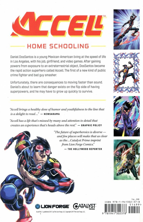 CATALYST PRIME ACCELL VOL 01 HOME SCHOOLING SC