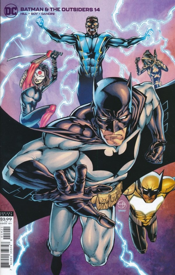 BATMAN AND THE OUTSIDERS #14 VAR