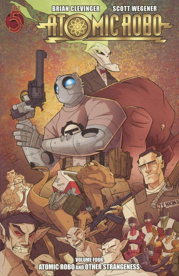 ATOMIC ROBO VOL 04 AND OTHER STRANGENESS SC