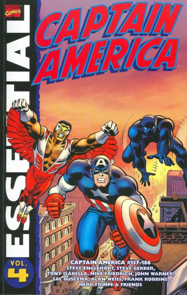 ESSENTIAL CAPTAIN AMERICA VOL 04 SC **