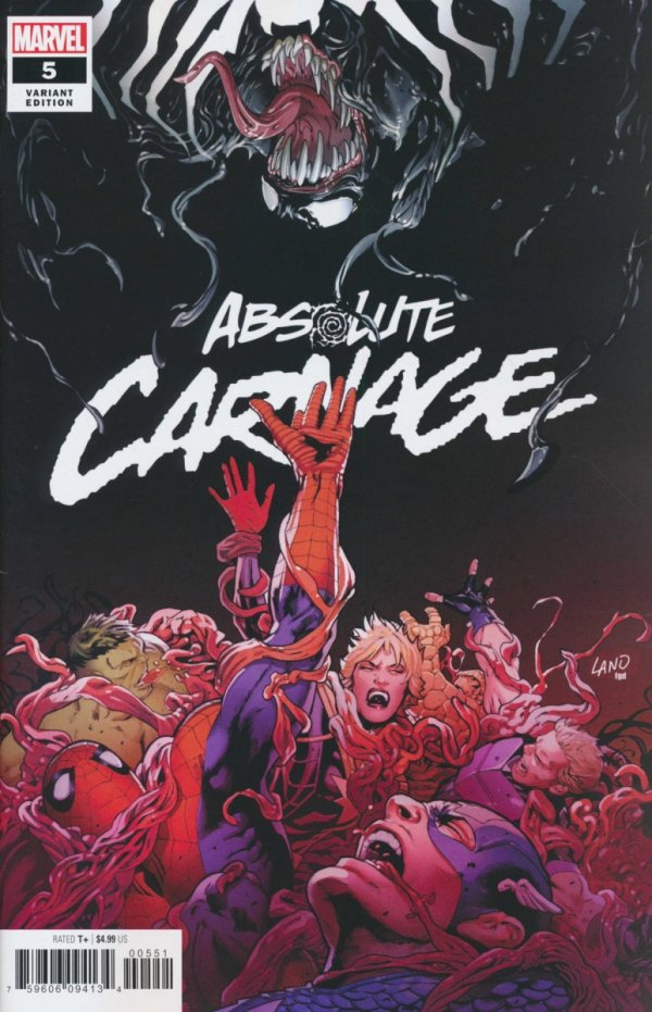 ABSOLUTE CARNAGE #5 LAND VAR