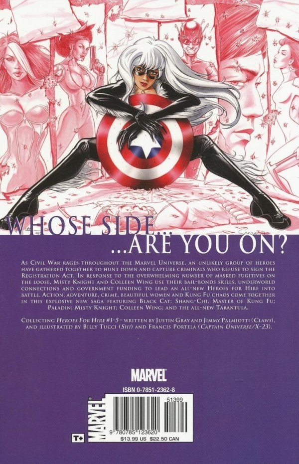 HEROES FOR HIRE VOL 01 CIVIL WAR SC *