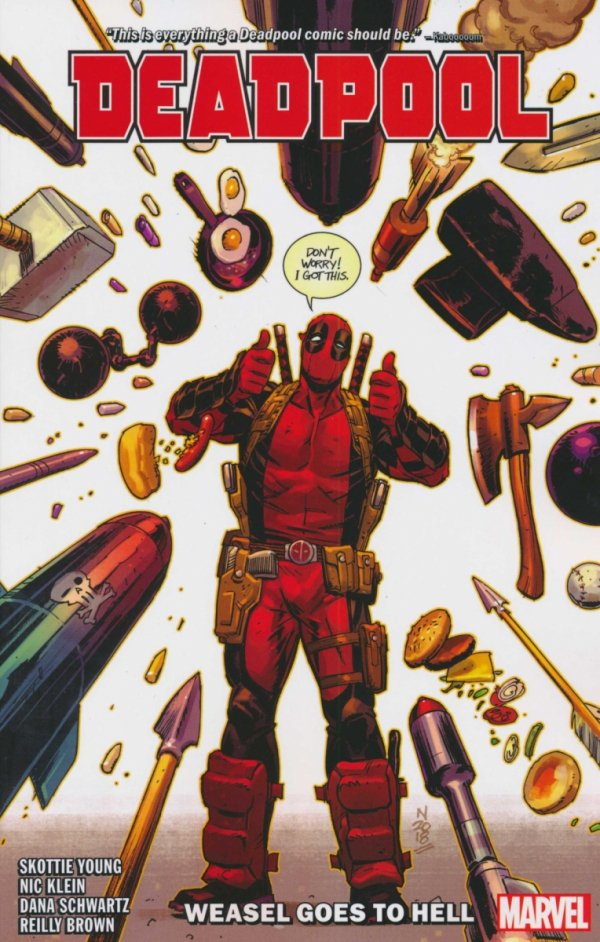 DEADPOOL VOL 03 WEASEL GOES TO HELL SC