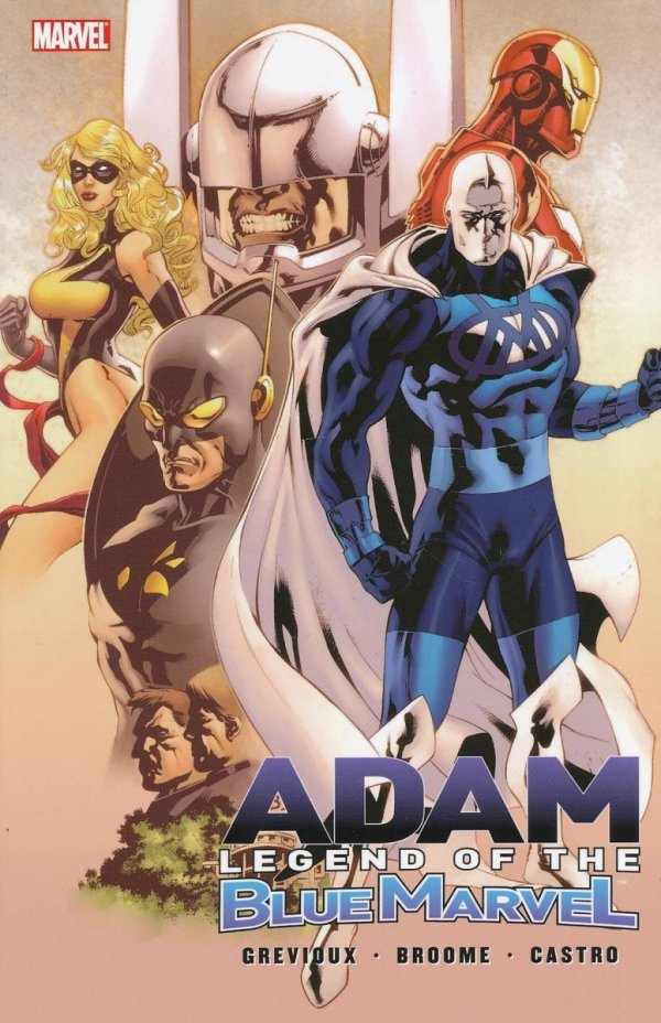 ADAM LEGEND OF THE BLUE MARVEL SC