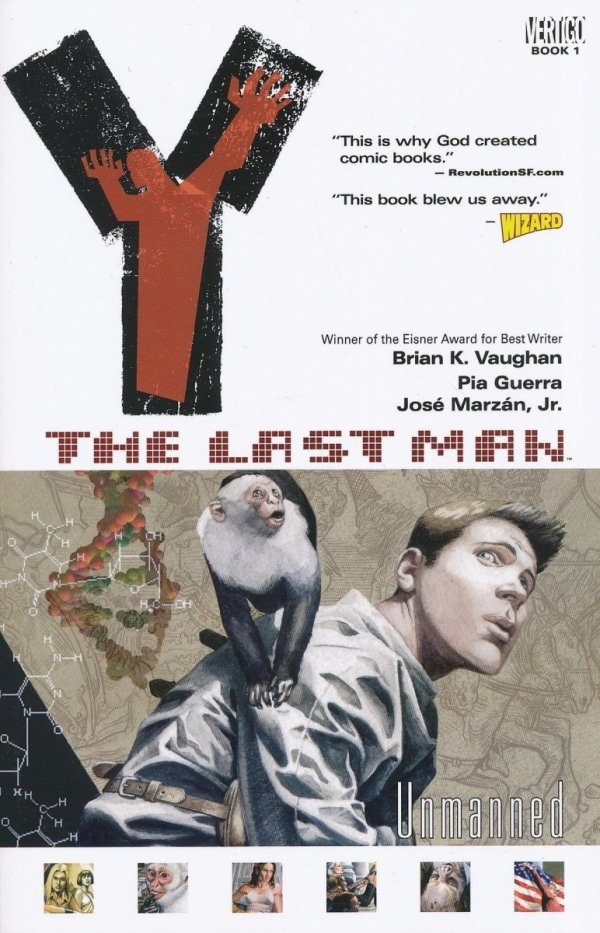 Y THE LAST MAN VOL 01 UNMANNED SC (NEW EDITION)