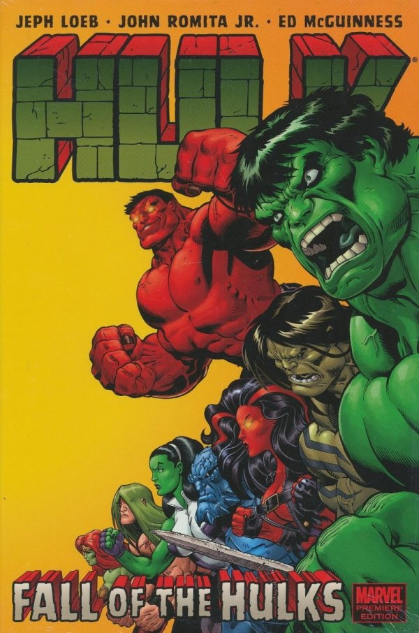 HULK VOL 05 FALL OF THE HULKS HC