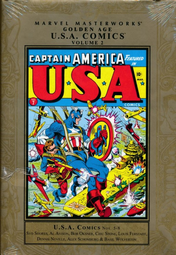MARVEL MASTERWORKS GOLDEN AGE USA COMICS VOL 02 HC (STANDARD COVER)