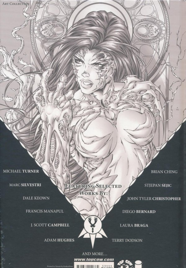 20TH ANNIVERSARY SPECIAL ART OF WITCHBLADE HC (SUPERCENA)