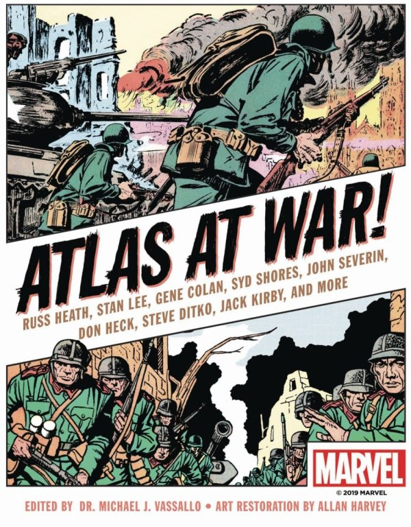 ATLAS AT WAR HC GN *
