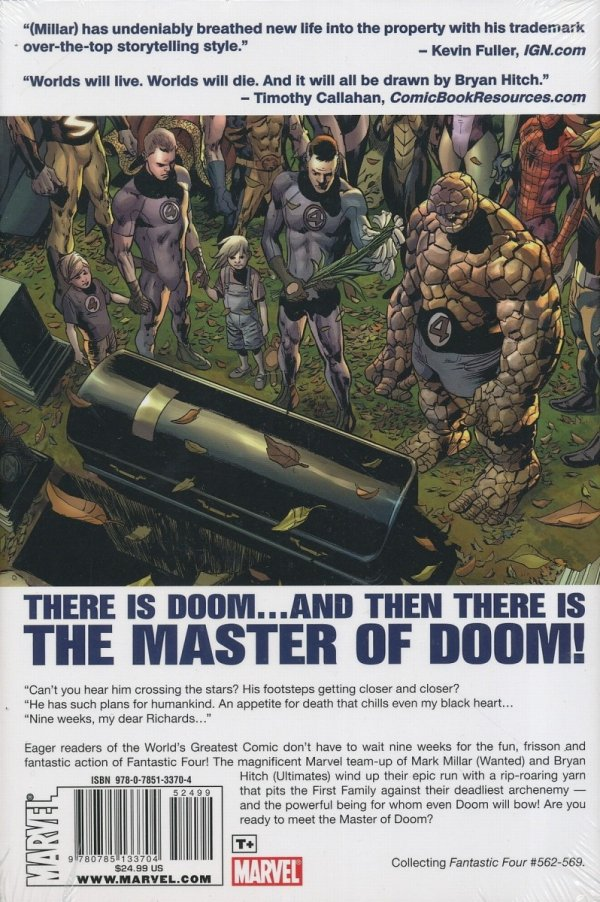 FANTASTIC FOUR THE MASTER OF DOOM HC *