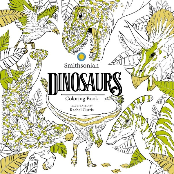 DINOSAURS SMITHSONIAN COLORING BOOK *