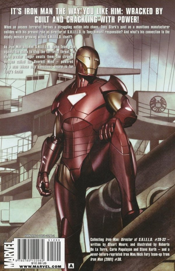 IRON MAN WITH IRON HANDS SC *