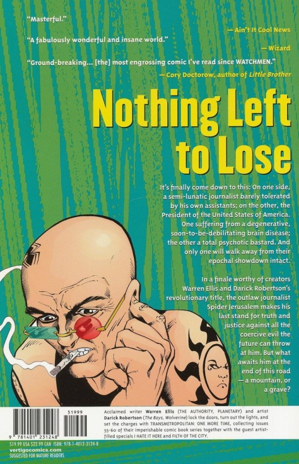 TRANSMETROPOLITAN VOL 10 ONE MORE TIME SC (NEW EDITION)
