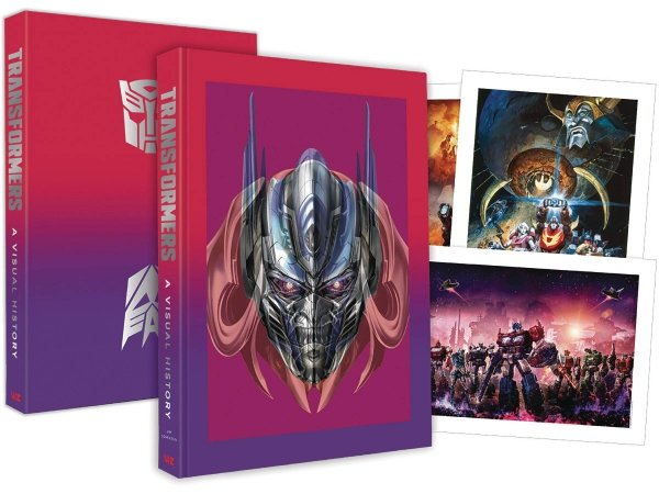 TRANSFORMERS VISUAL HISTORY LIMITED EDITION HC (BOX) **