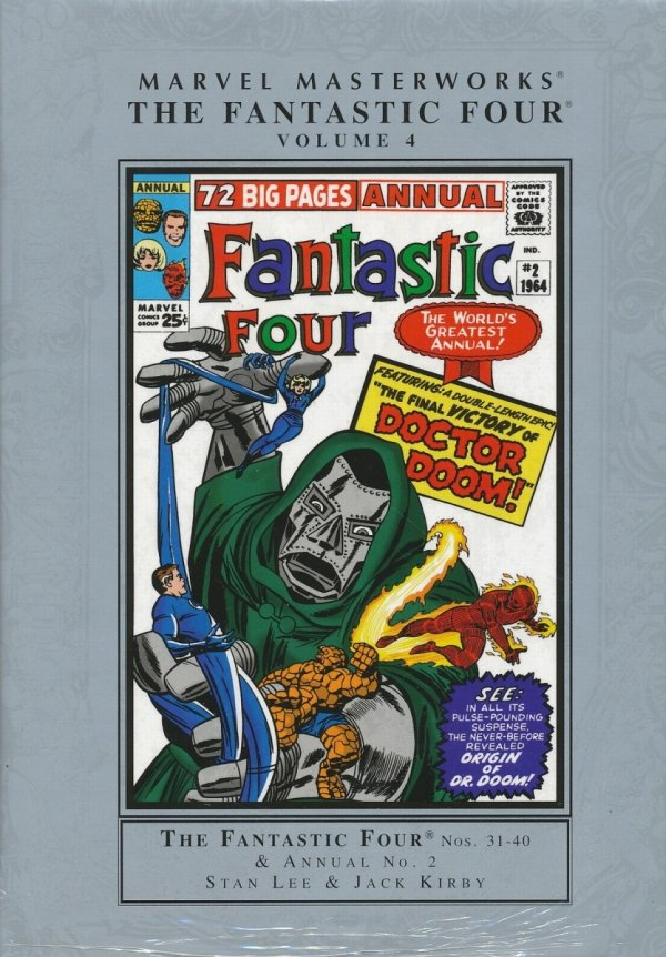 MARVEL MASTERWORKS THE FANTASTIC FOUR VOL 04 HC (STANDARD COVER)