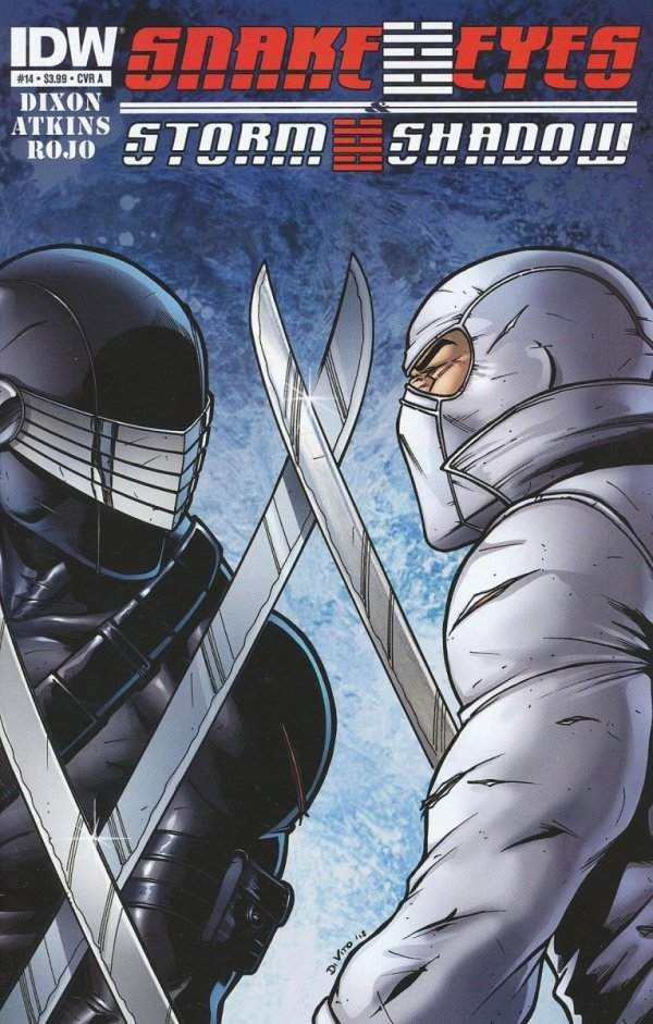 SNAKE EYES AND STORM SHADOW #14