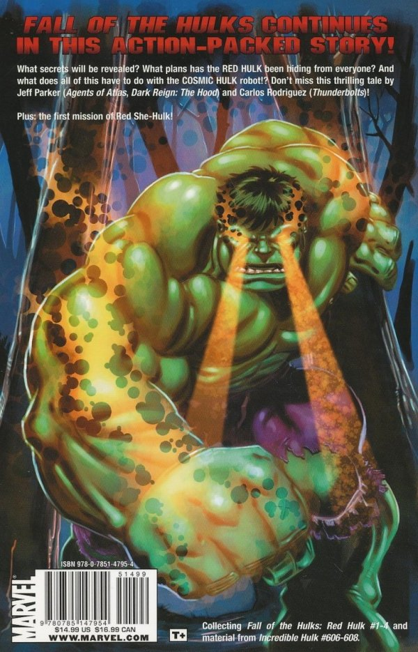 HULK FALL OF THE HULKS RED HULK SC