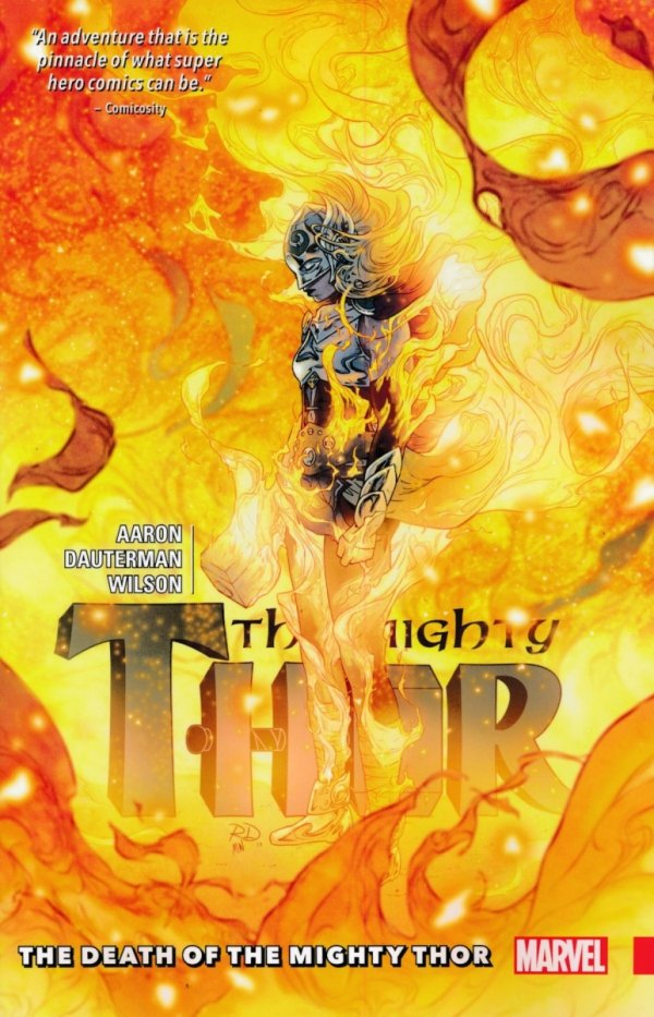 MIGHTY THOR TP VOL 05 DEATH OF THE MIGHTY THOR