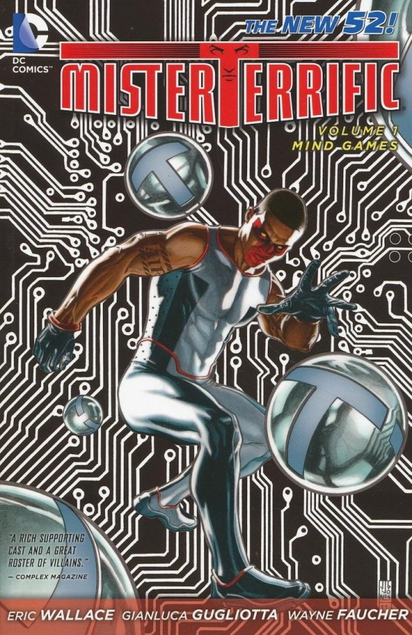 MR TERRIFIC VOL 01 MIND GAMES SC