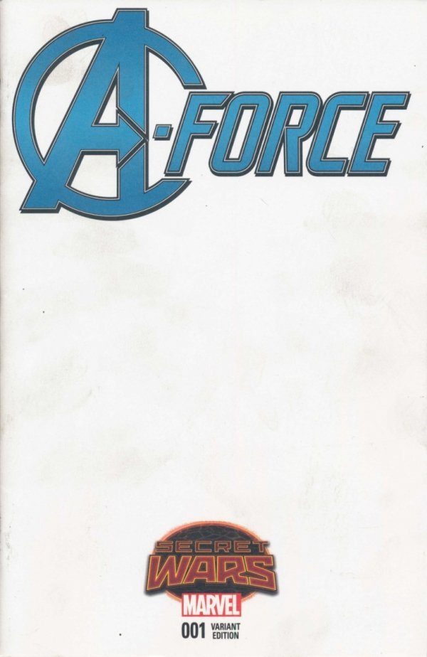 A-FORCE #1 BLANK VAR