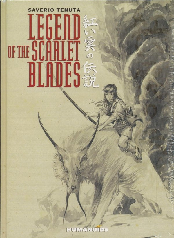 LEGEND OF THE SCARLET BLADES HC (OLD EDITION)