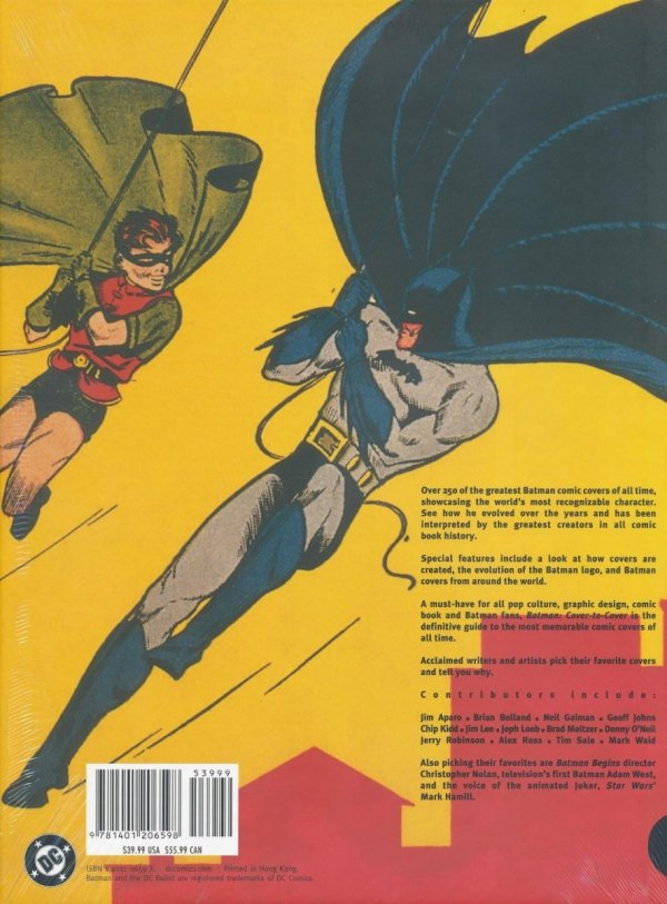 BATMAN COVER TO COVER HC