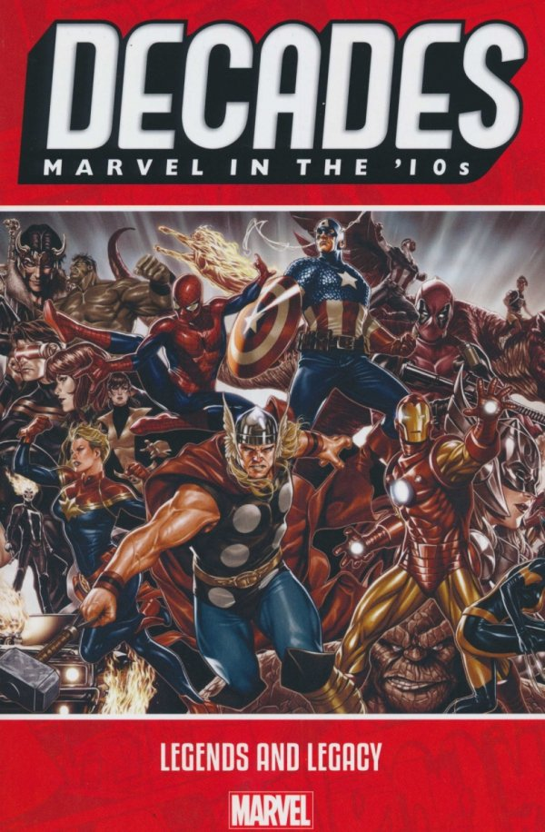 DECADES MARVEL IN THE 10S LEGENDS AND LEGACY SC