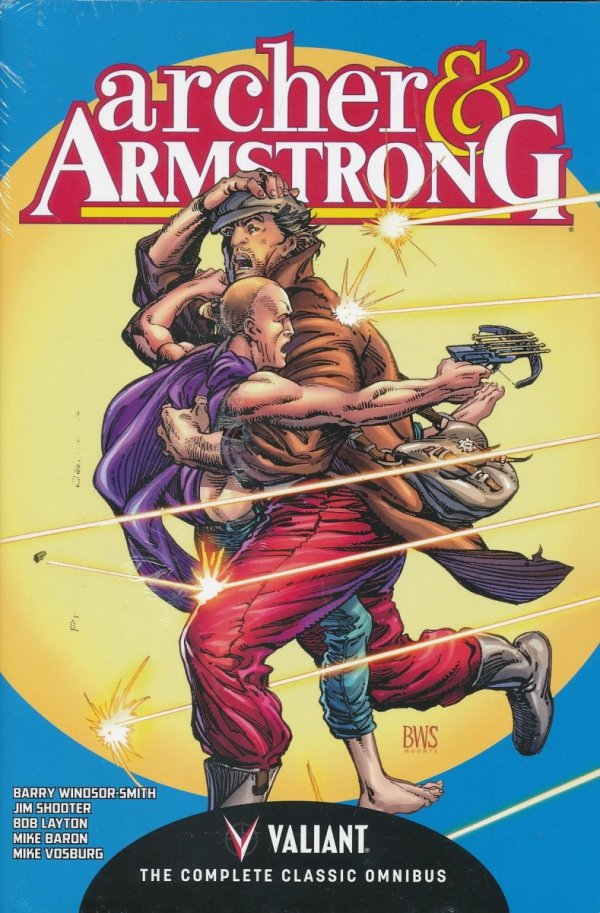 ARCHER AND ARMSTRONG THE COMPLETE CLASSIC OMNIBUS HC (SALEństwo)