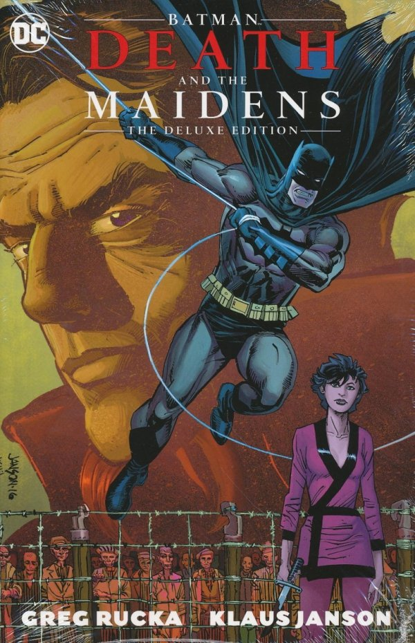 BATMAN DEATH AND THE MAIDENS THE DELUXE EDITION HC